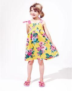 JNR MADDIE Girls Dress-JOULES SS13