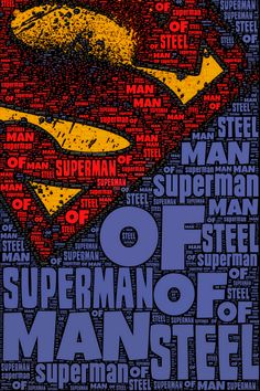Man of Steel! Just release the movie already like....yesterday!!