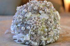 Glamours wedding bouquet