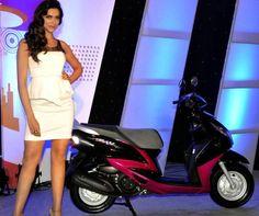 #Deepika #Padukone #Yamaha Automatic Scooter #Ray Brand Ambassador