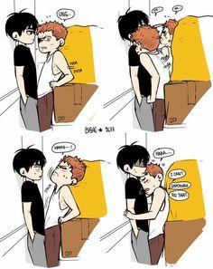 "bisho-s: ""Give up… both of you "" 19 Days Manga Español, Days Anime, Anime Guys, Manga Anime, Manhwa, Monster Falls, Manga Cute, Cute Comics, Shounen Ai"