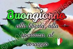 Buongiorno Italia Bon Courage, Italian Phrases, Good Morning Good Night, Positivity, Italy, Pictures, Gifs, Album, Cards