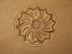 Leather+carving | While I was working on the first pattern, I had an idea for a second ...
