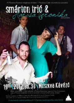 Smárton trió & Harcsa Veronika @ Moszkva Café #Oradea