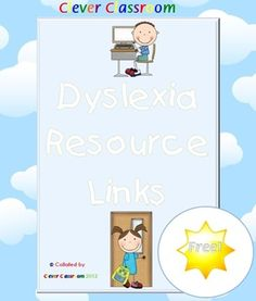 FREE Dyslexia Resource - Links to Facebook pages, websites, YouTube videos and articles.