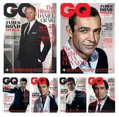 GQ UK NOVEMBER 2012: James Bond Special