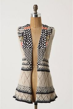 Absolutely Monica: Anthropologie - Draw The Eye Vest