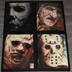 By Chrombyte Designs #Halloween #Michael_Myers #Nightmare_On_Elm_Street…
