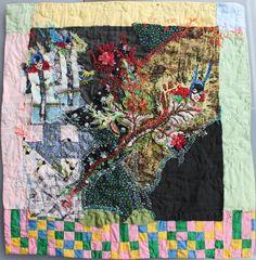 Patchworks brodés | Le Monde de Léa. Léa Stansal, une artiste des aiguilles.