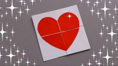 DIY QUICK AND EASY VALENTINE CARD / NEVER ENDING CARD - TUTORIAL / VALEN...