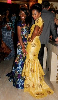 african inspired gowns | It comes in a rich variety of colours and patterns. So, whether or not ...