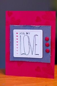 How to personalize a Valentine's Day card | Magazines.com #DIY