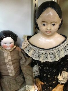 Early Antique Porcelain Dolls | early doll with kid body $ 795 00 china head doll $ 195 00 back to ...