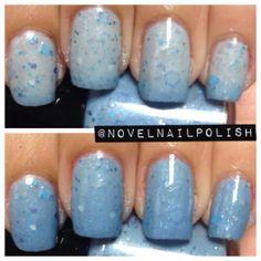 Full Size 13.2 Blue Thermal Glitter Nail Polish by NovelNailPolish, $10.00
