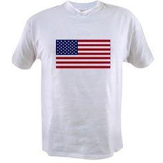 American Flag Value T-shirt