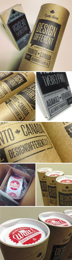 Design Different Poster Tube Packaging.