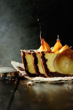 Studio Kitchen   shortbread with embedded pears