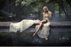 Sweet Violet Bride - http://sweetvioletbride.com/2013/09/ethereal-forest-photo-shoot-gowns-gwendolynne/