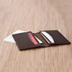 NAPPA LEATHER BUSINESS CARD CASE