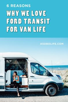 In this post, we will discuss why we decided to purchase a Ford Transit for our camper van conversion and why, after 2 years living in our van, we still LOVE our decision. #fordtransitcamper #bestvehicleforroadtrips #fordtransitcamperconversion # Van Conversion Ford Transit, Camper Van Conversion Diy, Stealth Camper Van, Ford Transit Campervan, Commercial Van, Cool Campers, Diy Camper, Sprinter Van, Van Life