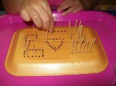 Mi Escuelita Montessori: New activity / New activity Motor Skills Activities, Toddler Learning Activities, Montessori Activities, Preschool Learning, Infant Activities, Teaching, Shape Activities, Fine Motor, Homeschooling