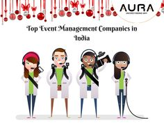 #AURA is one of the #Top #Event #Management #Companies in #India. They organize all kinds of Events and functions. They are the leading players in their game. They handle all kinds of crowd with ease and passion.