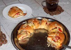 Pizzový veniec so šunkou (fotorecept) French Toast, Pizza, Breakfast, Food, Hampers, Morning Coffee, Essen, Meals, Yemek
