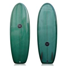 WATERSHED SURFBOARDS MINI SHIMMONS GREEN 5'6""