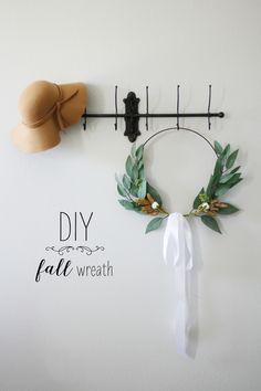 DIY Wreath for Fall.