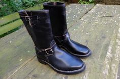 WESCO-Engineer-Boots-Horsehide-10-D