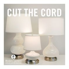 Make Your Table Lamp Cords Disappear Like Magic | Lamp cord, Cord ...