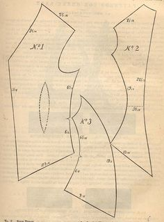"""The Georgian Vest""- Pattern. Peterson's July, 1875"