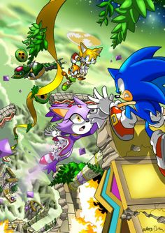Sonic Comic : Adventure, this was such a good game!
