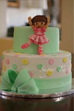 1000+ images about dora the explorer cakes on Pinterest ...
