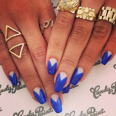 Dope nails of the day ;)  (via Melody Ehsani Instagram)
