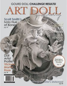 Art Doll Quarterly Magazine Aug Sep Oct 2014 Vol 12 Issue 3 Mixed Media for sale online Halloween Arts And Crafts, Halloween Ii, Scott Smith, Paperclay, Creepy Dolls, New Dolls, Polymer Clay Art, Fairy Dolls, Fantastic Art