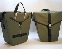 Ironweed Bicycle Panniers