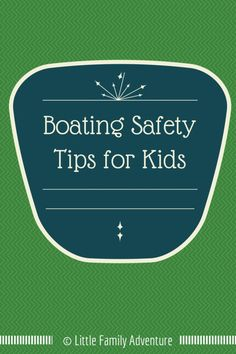 Natural bodies of water can pose a greater drowning risk than swimming pools. Be prepared with these Boating Safety Tips for Kids Boat Safety, Water Safety, Kids Safety, Boating Tips, Pontoon Boating, Summer Safety, Swimming Tips, Swimming Pools, Boat Insurance