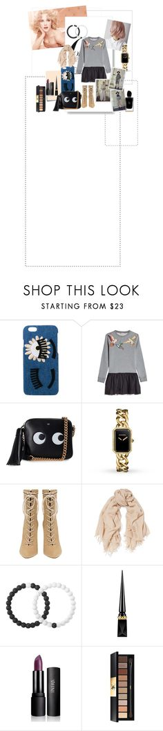 """Лорена-Л #8"" by lorena-l on Polyvore featuring мода, Post-It, Chiara Ferragni, RED Valentino, Anya Hindmarch, Chanel, Chan Luu, Lokai, Christian Louboutin и Yves Saint Laurent"