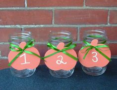 Fall Wedding Decor  / Chalkboard Wedding by CarolesWeddingWhimsy, $49.99, set of 14, Orange Chalkboard Pumpkins......perfect for Table Numbers or Candy Buffet Labels.  Check them out at https://www.etsy.com/listing/162970322/fall-wedding-decor-chalkboard-wedding  Fall - Halloween - Thanksgiving Delight!