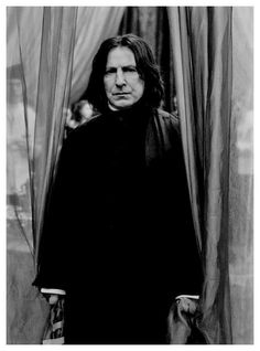 Severus Snape, Harry Potter Series (played by Alan Rickman) Professor Severus Snape, Snape Harry, Harry Potter Severus Snape, Alan Rickman Severus Snape, Severus Rogue, Draco Malfoy, Hermione Granger, Arte Do Harry Potter, Images Harry Potter