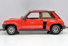 This 1980 Renault R5 Turbo 1 is one of the genuine early homologation models as opposed to the more common Turbo 2's we usually see and feature. This one has custom seats and wheels, but maintains many of the quirky parts that were phased out with the Turbo 2. Find it here on eBay in Birmingham