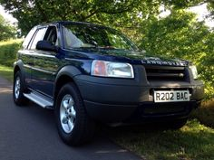 R202 BAC pre production Freelander