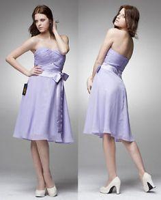 Free-bodycon-slim-club-Strapless-A-Line-Knee-Length-Cocktail-Dress-BR7005-US4-18