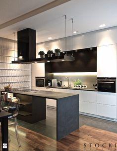 Penthouse Wilanów - kuchnia - zdjęcie od Stocki Design - Kuchnia - Styl Nowoczesny - Stocki Design
