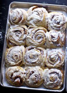 cinnamon brioche buns | bread in 5