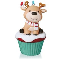 """2015 HALLMARK """"SALTY AND SWEET"""" ORNAMENT - Cupcake - #5 - 12 Month Of Fun"""