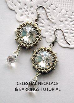Celestial Earrings Tutorial - Obstinate Pursuit, Etsy.