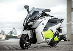 BMW's electric scooter