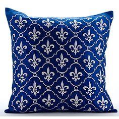 Luxury Royal Blue Pillow Covers, Anchor Royal Blue Fleur ... https://www.amazon.com/dp/B016H8RKME/ref=cm_sw_r_pi_dp_xUoCxbR505V0V